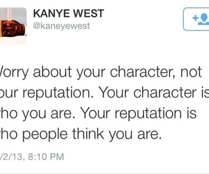 quotes, kanye west, and Reputation image