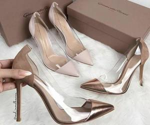 fashion, high heels, and luxury image