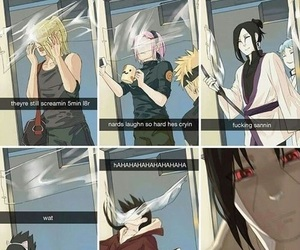 naruto, anime, and funny image