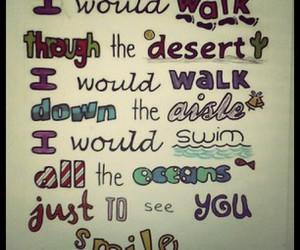quote, smile, and one direction image