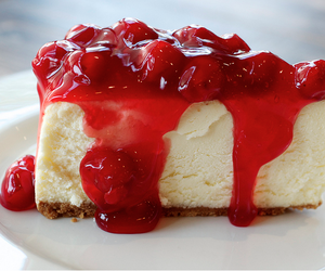 cheesecake, cake, and delicious image