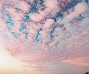 sky, clouds, and beach image