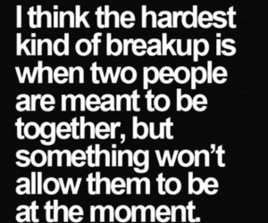 break up, couple, and cry image