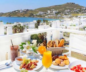 Greece, holidays, and traveling image