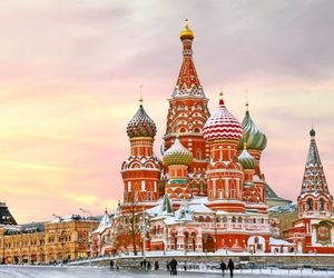 moscow, travel, and Red Square image