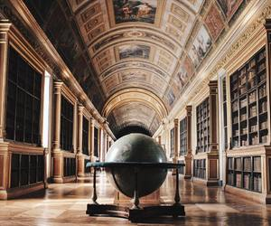 architecture, books, and chateau image