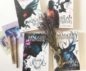 books, ravens, and themagician image
