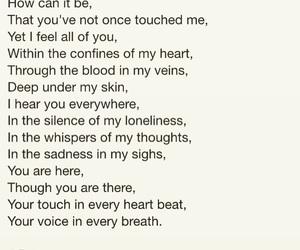 heartbreak, words, and love image