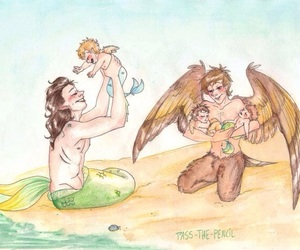 fantasy, Harry Styles, and louis tomlinson image