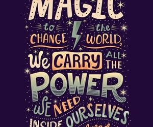 harry potter, magic, and quotes image