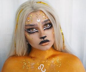 Leo, makeup, and hair image