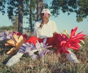 tyler the creator and flowers image