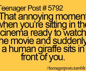 teenager post, cinema, and lol image