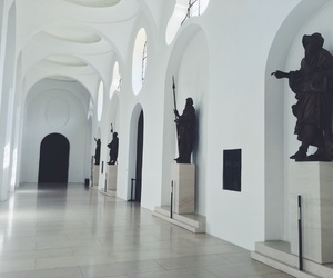 aesthetic, museum, and light image