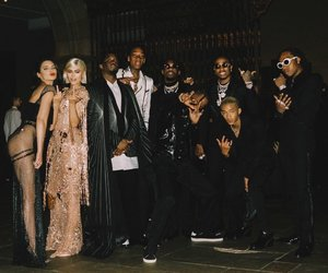 niggas, kendall jenner, and kylie jenner image