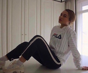 beauty, Drake, and Fila image
