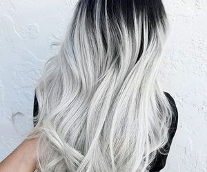 hair, white, and grey image