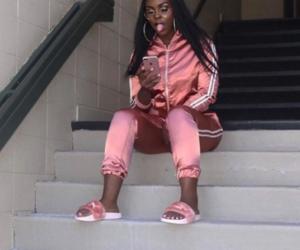 adidas, fashion, and slides image