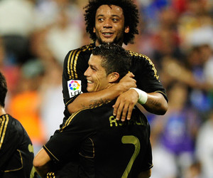 cristiano ronaldo, madrid, and friends image