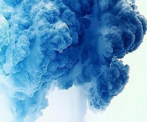 blue and smoke image