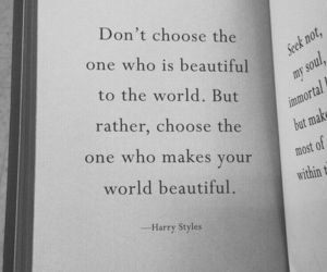 quotes, Harry Styles, and book image