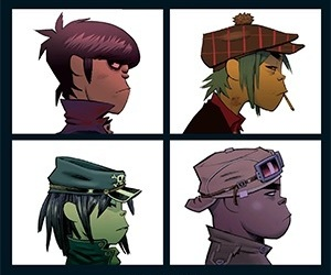 gorillaz, 2d, and demon days image