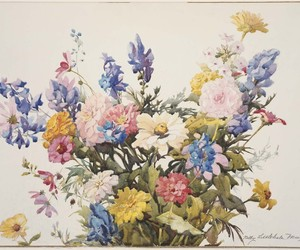 art, flowers, and cute image