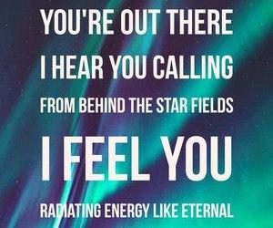 Lyrics, telescope, and starset image