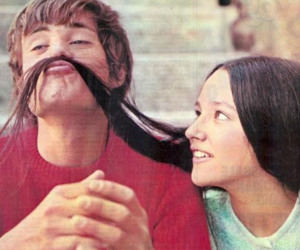 romeo and juliet, Olivia Hussey, and couple image