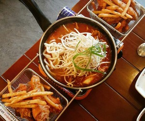 Chicken, foodie, and noodles image