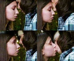 the walking dead, enid, and carl image