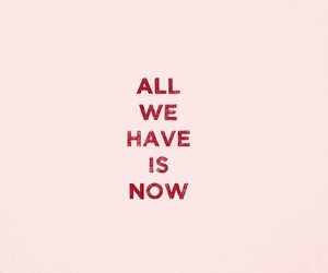 quotes, now, and pink image