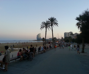 barcellona, Barcelona, and mare image