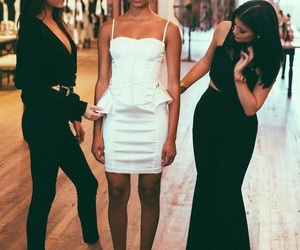 kylie jenner, kendall jenner, and fashion image