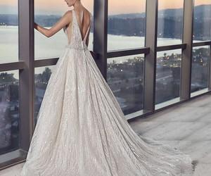 boda, dress, and wedding image