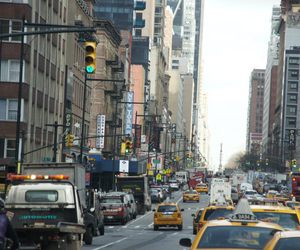 city, day, and new york image