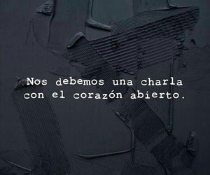 amor, frases, and charla image