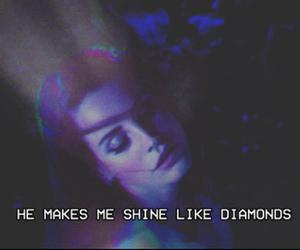 diamond, lana del rey, and indie image