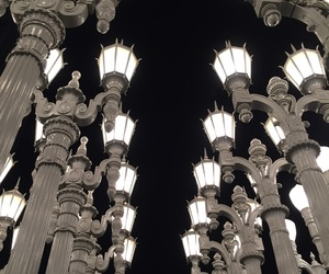 lacma, lights, and losangeles image