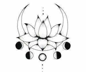 tatto, media luna, and tatuaje image