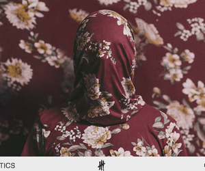 cia, floral, and red image