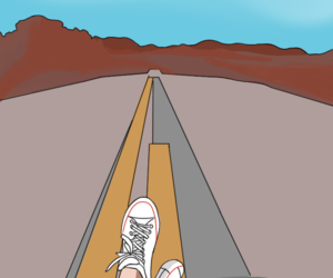 background, canyon, and converse image