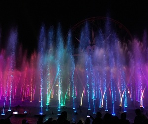 colour, disneyland, and pretty image