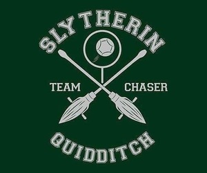 slytherin, harry potter, and quidditch image