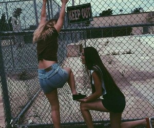 girl, friends, and tumblr image