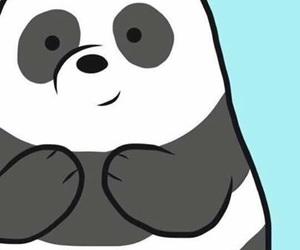 background, bear, and panda image