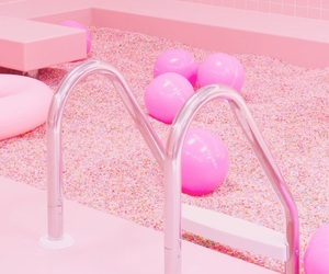 baby pink, hot pink, and ice cream image