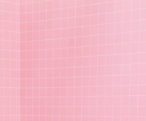 baby pink, grid, and ice cream image