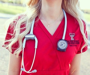 doctor, student, and medical image