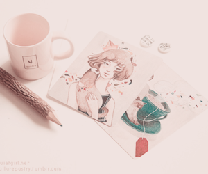 lovely, pink, and pastel image